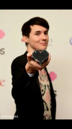 Dan lovie awards. You're just so amazing Dan I love you so much! I wanna be you and Phil's best friend!