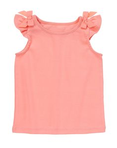 Bow Shoulder Tank at Gymboree