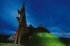 Imre Makovecz - architect Frank Lloyd Wright, Gaudi, Architecture Organique, Gaston Bachelard, Organic Architecture, Hungary, The Dreamers, Past, Pools
