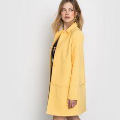 Пальто с чешуйчатым рисунком Mademoiselle R   купить в интернет-магазине La Redoute