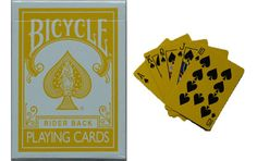 Bicycle Yellow Deck Playing Cards. #playingcards #poker #games