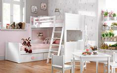 Si tenéis problemas de espacio en casa y necesitáis que la habitación de los niños sea doble, seguro que ya habéis pensado en que la solución más factible sea u
