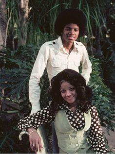 Michael and LaToya Jackson.