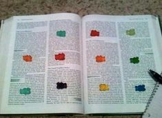 Study motivation . Gummi bears