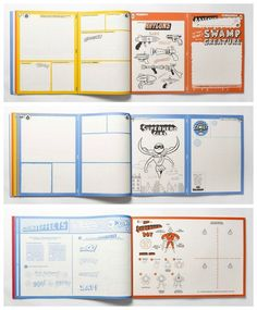 The Superhero Comic Kit by Jason Ford: ENORMOUS and super fun DIY book for imaginative kids