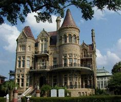 The Bishop's Palace, 1893: Fanciest House in Galveston, Texas - Pixdaus