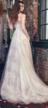 "Luxe Bohemian Chic Wedding Gown- Galia Lahav ""Les Reves Bohemians"" - Belle The Magazine"