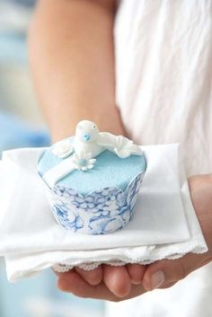 With Grateful Hands❥ Tea Cakes, Cupcake Cakes, Giving Hands, Cupcake Boutique, Blue Springs, White Cottage, Simple Pleasures, Little Gifts, Blue Bird