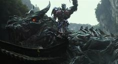 LOOK! Optimus Prime is Riding a DINOBOT in The Latest Transformers 4 Trailer [Video]