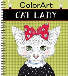 Amazon.com: ColorArt Coloring Book - Cat Lady (9781680224962): Editors of Publications International Ltd.: Books