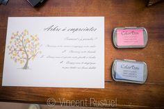 Mariage Arbre à empreintes encre tuto Photographe Vincent Rustuel