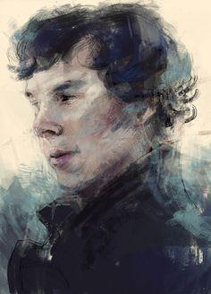 Sherlock Art Print - nlmda