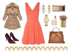 """""""Work Outfit"""" by paula-marques-1 on Polyvore featuring moda, Opening Ceremony, Wet Seal, Fendi, Irene Neuwirth, Kate Spade, Urban Decay e Barclay Butera"""