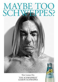 Schweppes Lemon Dry: Iggy, 3 Advertising Agency: China, Madrid, Spain