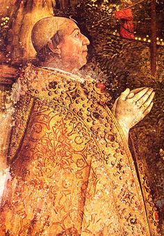 Pope Alexander VI by Pinturicchio. Surprisingly,given his reputation, Alexander has been consistently named one of the best popes as an administrator. Los Borgia, Lucrezia Borgia, The Borgias, Italian Renaissance, Renaissance Art, Borgia History, Saint Antony, Florence, Books