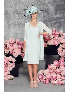 Short Knee Length V-Neck Lace Chiffon Mother of The Bride Dresses 99605106