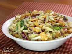 Apple Cheddar Slaw |