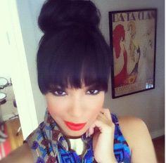 Adorable High Bun Hairstyles for Woman ...