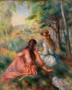 Pierre-Auguste Renoir, In The Meadow