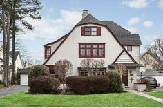 Classic French Normandy Colonial at 63 Pine Street, Garden City Long Island NY