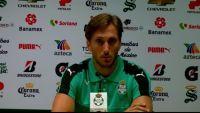 Jugador de Santos Laguna suelta el llanto
