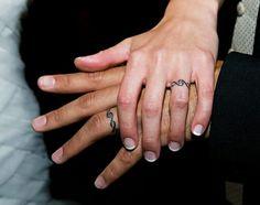 Wedding band tattoos :)