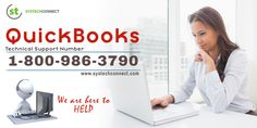 If you encounter issues while using #QuickBooks, call on QuickBooks #TechnicalSupportPhoneNumber 1-800- 986-3790 to get instant assistance. More information is available at http://www.systechconnect.com/quickbooks.php.