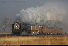 RailPictures.Net Photo: UP 844 Union Pacific Steam 4-8-4 at Maxwell, Nebraska by Kevin Andrusia