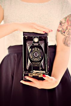 vintage brownie love. #photography