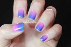 Easy gradient nails that are sure to turn heads!