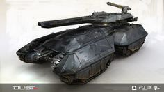 Caldari Heavy Attack Vehicle (HAV) - Game: DUST 514