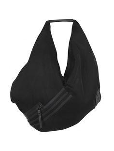 Y-3 Yohji Yamamoto Black Big Shoulder Bag | HERVIA SS16 ACCESSORIES