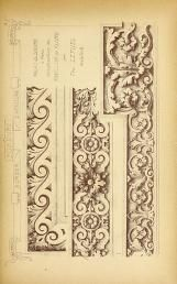 Materials and documents of architecture and sculpture : classified alphabetically Carving Designs, Stencil Designs, Classic Architecture, Architecture Details, Louvre Paris, Architectural Antiques, Detailed Drawings, Decorative Panels, Document