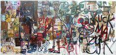 Aboudia, 'Street Art / Kuck ma' 2012.