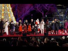Dec 3, 2015   President Barack Obama & the First Family attend the National Christmas Tree Lighting on the Ellipse. The President delivered remarks & the First Lady Michelle Obama read 'The Night Before Christmas' with the Muppets.