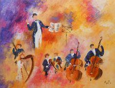 Maison de ventes aux enchères en ligne Catawiki: Axelle Bosler - Le Concert