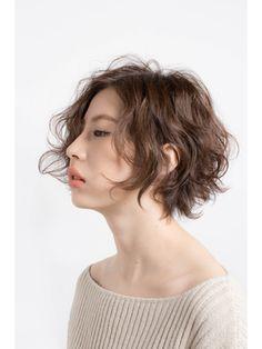ミヤニシアクセス(miyanishi AX'S) 大人パーマショート Short Wavy Haircuts, Short Permed Hair, Permed Hairstyles, Short Hairstyles For Women, Short Hair Cuts, Hair Styles 2016, Curly Hair Styles, Natural Hair Styles, Cabello Hair