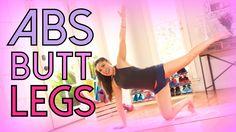 Crazy Abs, Butt & Legs Workout