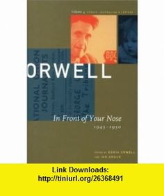the collected essays journalism and letters of george orwell pdf