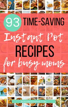 Could you use some help in the kitchen when it comes to saving time and feeding your family? Check out this epic list of Instant Pot recipes for busy moms to save you major time! Instant Pot Pot Roast, Instant Pot Pasta Recipe, Buffalo Chicken Soup, Easy Dinner Recipes, Easy Recipes, Cheap Recipes, Kraft Recipes, Dinner Ideas, Vegan Recipes