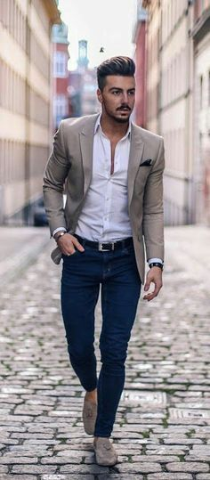 Men's Casual Outfit Ideas 31 best classy outfit ideas for men mens casual suits Men's Casual Outfit Ideas. Here is Men's Casual Outfit Ideas for you. Mens Fashion Blog, Fashion Mode, Mens Fashion Suits, Style Fashion, Trendy Fashion, Classy Mens Fashion, Fashion Ideas, Fashion Vest, Mens Classy Outfits