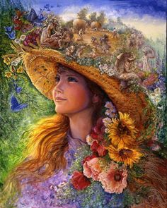Josephine Wall Wallpaper Cool Babes | Josephine Wall9 Surreal art by Josephine Wall