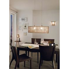 Sendero - wooden pendant light with natural design Wooden Wall Lights, Wooden Lampshade, Wood Chandelier, Traditional Lighting, Wooden Slats, Interior Decorating, Interior Design, Pendant Lamp, Table