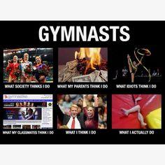 Gymnastike's What I think I do.....