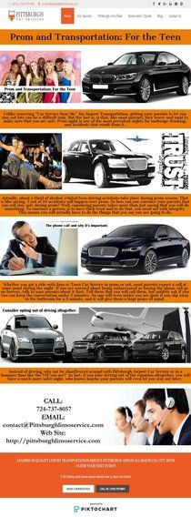 Prom and Transportation: For the Teen | Piktochart Infographic Editor