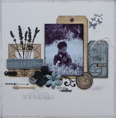 Une page pour Florilèges Design et infos Make and take version scrap 2015