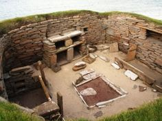 medieval central hearth - Google Search
