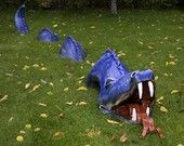 Sea Dragon Garden sculpture (who wouldn't want one of these!?)
