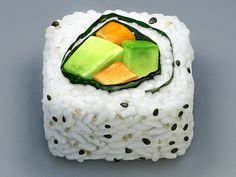 California Roll Icon I love the details that render this as a yummy looking piece of sushi.Being that i love sushi as well as this icon looks so real its seems good enough to eat. They have managed to illustrate it giving it good proportions and co Launcher Icon, Mobile App Icon, Mobile Ui, Application Icon, Food Painting, App Icon Design, Apps, App Logo, Ios Icon