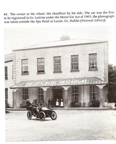 Spa hotel Lucan many moons ago Dublin Street, Dublin City, Old Pictures, Old Photos, Old Irish, Ireland Homes, Photo Engraving, History Photos, Dublin Ireland